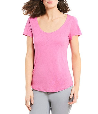 Sigrid Olsen Signature Scoop Neck Tee