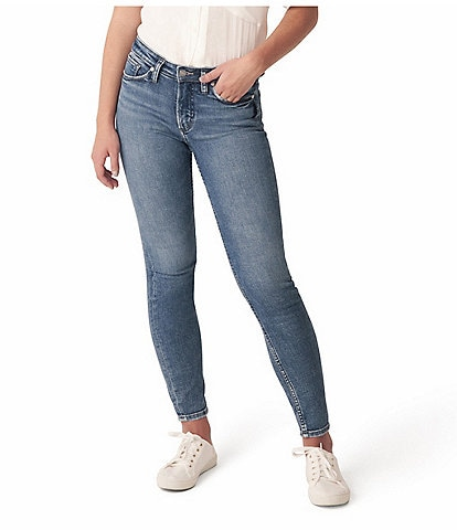 Silver Jeans Co. 27#double; Inseam Most Wanted Skinny Jeans