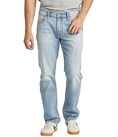 Silver Jeans Co. Allan Classic Light Wash Slim Fit Jeans