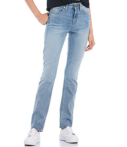 Silver Jeans Co. Avery High Rise Straight Jeans