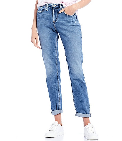 Silver Jeans Co. Beau Slim Lightly Distressed Jeans