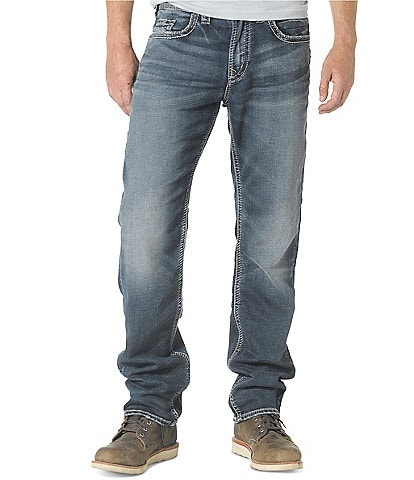 Silver Jeans Co. Big & Tall Eddie Athletic-Fit Denim Jeans