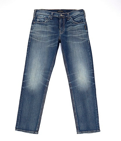 Silver Jeans Co. Eddie Relaxed Fit Tapered Leg Jeans
