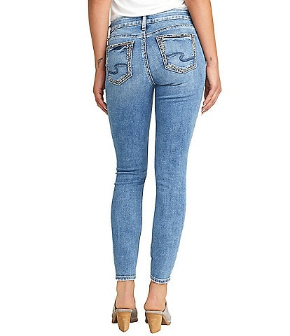 Silver Jeans Co. Elyse Curvy Fit Skinny Jeans