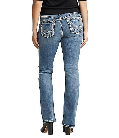 Silver Jeans Co. Elyse Mid Rise Bootcut Jeans