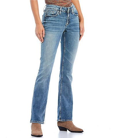 Silver Jeans Co. Elyse Slim Light Wash Bootcut Jeans