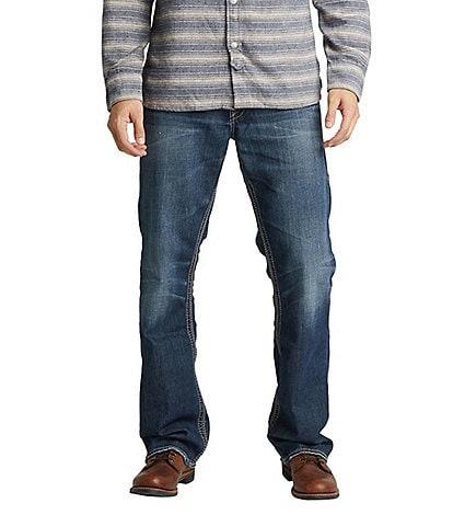 Silver Jeans Co. Gordie Loose Fit Dark Wash Subtle Whiskering Wash Jeans