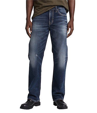 Silver Jeans Co. Gordie Loose Fit Medium Wash Performance Stretch Jeans