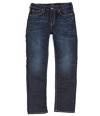 Silver Jeans Co. Grayson Easy Straight Dark Indigo Jeans