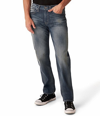 Silver Jeans Co. Hunter Athletic Tapered Jeans