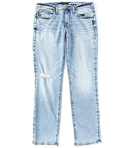 Silver Jeans Co. Machray Light Classic-Fit Straight Leg Jeans