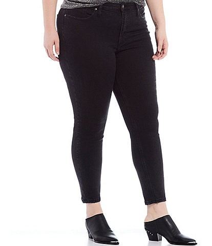Silver Jeans Co. Plus Size High Note Skinny Ankle Jeans