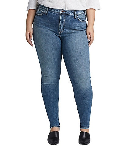 Silver Jeans Co. Plus Size High Note Skinny Jean