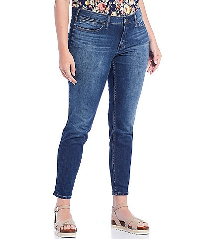 Silver Jeans Co. Plus Size Suki Power Stretch Skinny Ankle Jeans