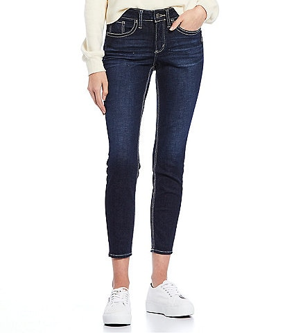 Silver Jeans Co. Suki Crop Skinny Jeans