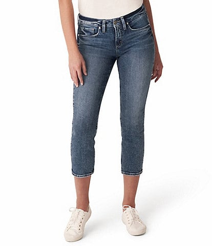 Silver Jeans Co. Suki Cropped Straight Jeans