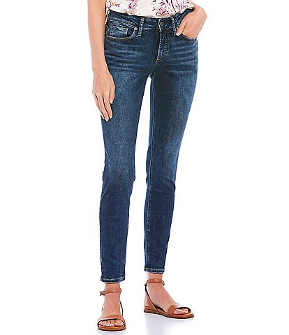 Silver Jeans Co. Suki High Rise Skinny Jeans