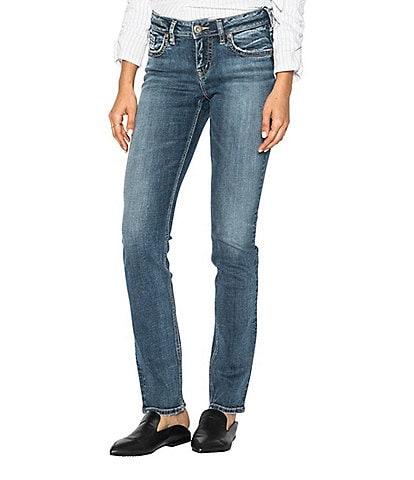 Silver Jeans Co. Suki Straight Leg Jeans