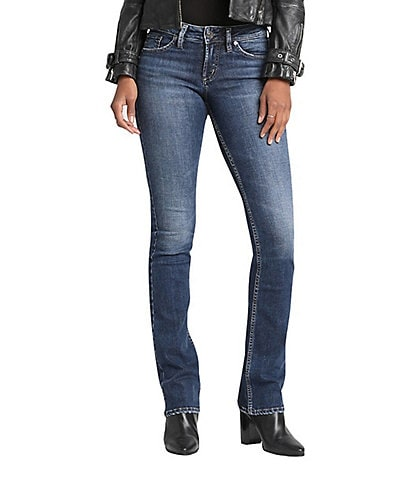 Silver Jeans Co. Suki Super Stretch Slim Bootcut Jeans