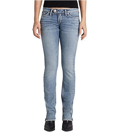 Silver Jeans Co. Tuesday Low Rise Slim Bootcut Jeans