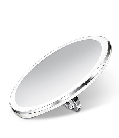 simplehuman 4#double; Sensor Lighted Mirror White Compact