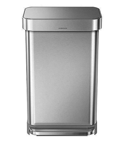 simplehuman 45-Liter Rectangular Step Trashcan