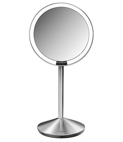 simplehuman 5#double; Mini 10x Magnification Sensor Lighted Mirror