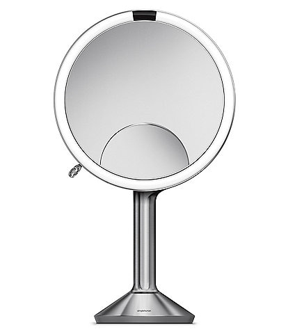 simplehuman 8#double; Stainless Steel Sensor Lighted Mirror Trio