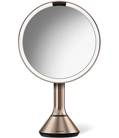 simplehuman Pink 8#double; Sensor Lighted Mirror with Brightness Control