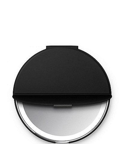 simplehuman Sensor Mirror Compact Smart Cover, Black