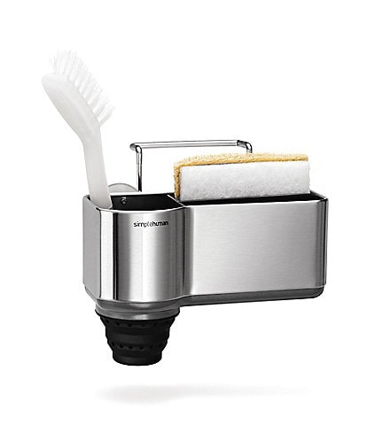 simplehuman Sink Caddy in Brushed Stainless Steel
