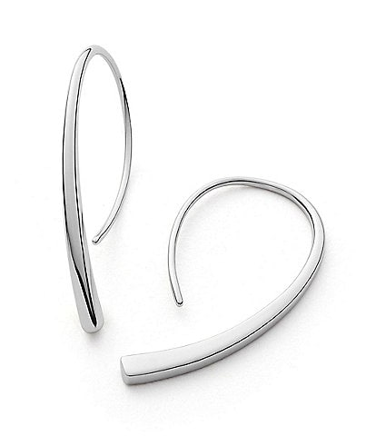 Skagen Elin Stainless Steel Ear Threader Earrings
