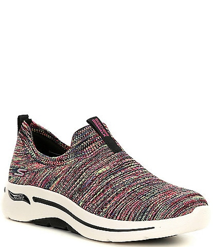 Skechers Go Walk Arch Fit-Rainbow Sunrise Sneakers