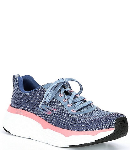 Skechers Max Cushioning Elite Knit Lace-Up Sneakers