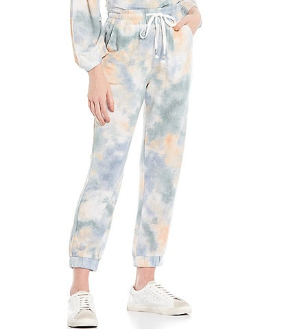 Skies Are Blue Tie Dye Jogger