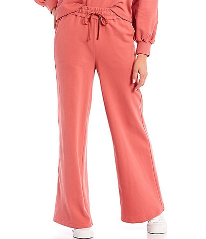 Skies Are Blue Wide Leg Coordinating Soft Pants