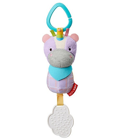 Skip Hop Bandana Buddies Chime & Teethe Toy - Unicorn