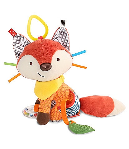 Skip Hop Bandana Buddies Fox Activity Teether Toy