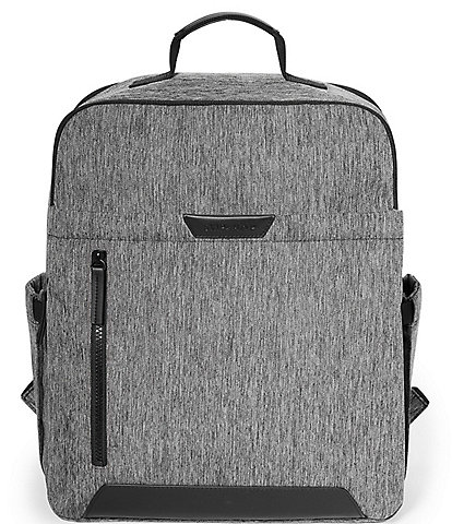 Skip Hop Baxter Textured Fabric Diaper Backpack