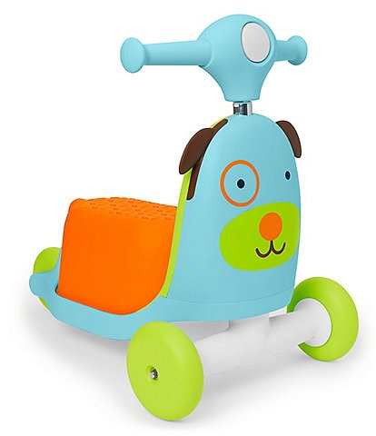 Skip Hop Dog 3-In-1 Ride On Toy