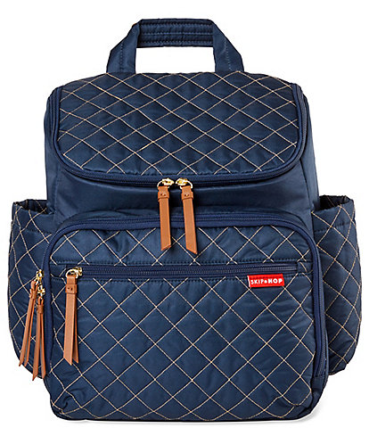 Skip Hop Quilted Forma Backpack Diaper Bag
