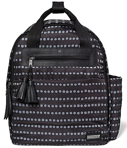 Skip Hop Riverside Dotted Backpack Diaper Bag