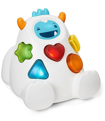 Skip Hop Sort & Spin Yeti Toy