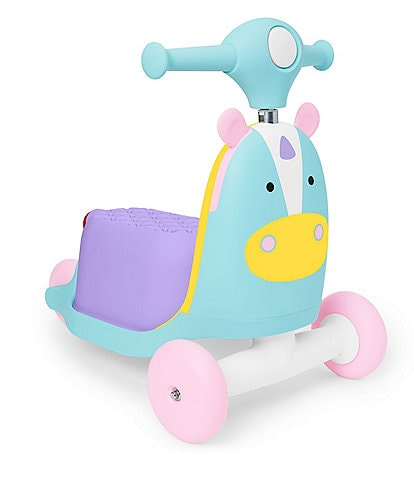 Skip Hop Unicorn 3-In-1 Ride On Toy