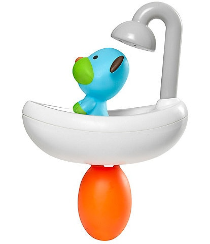Skip Hop Zoo Squeeze & Shower Dog Bath Toy