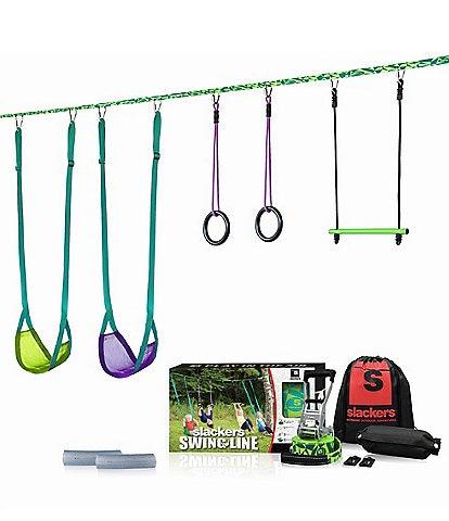 Slackers Slackers Swingline Instant Pop-Up Portable Swing Set & Jungle Gym