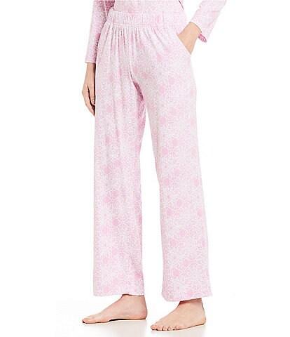 Sleep Sense Petite Geometric Snowflake Knit Sleep Pants