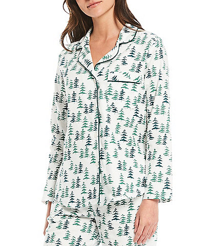 Sleep Sense Portuguese Flannel Tree Print Sleep Top