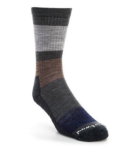 SmartWool Everyday Blocked Stripe Crew Socks