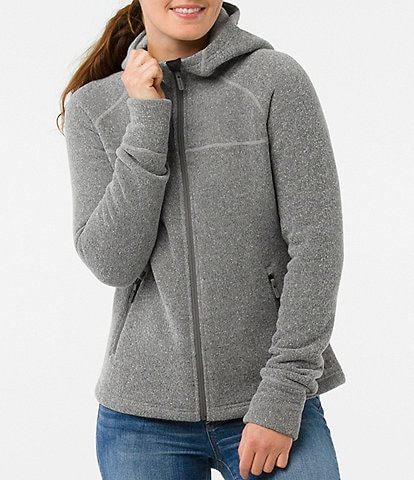 SmartWool Hudson Trail Hooded Zip Front Fleece Jacket
